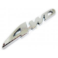 4WD Metal Chrome/Silver Badge For Car Truck 4x4